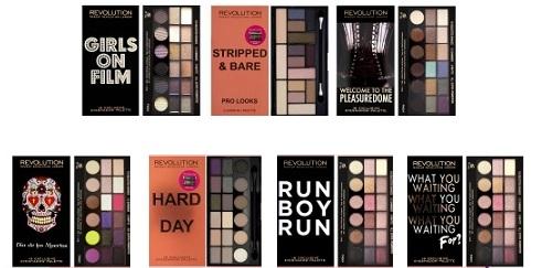 palette makeup revolution london