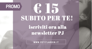 PETIT JARDIN newsletter