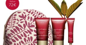 clarins routine di bellezza